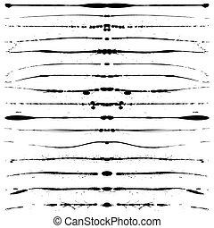 Grunge-Linien