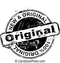 Gummistempel original