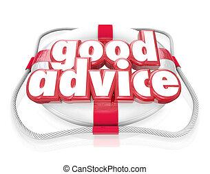 Gute Ratschläge, Rettungsschwimmer helfen Tipps.