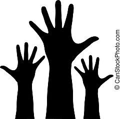 Hände hoch.