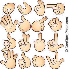 Hände und Gesten