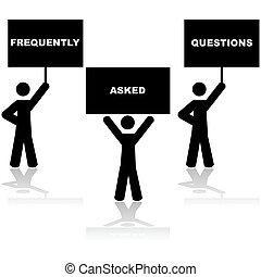 Häufig gestellte Fragen stellten häufig Fragen.