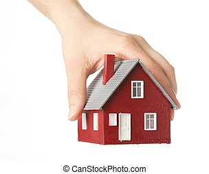 Hand Holding Haus