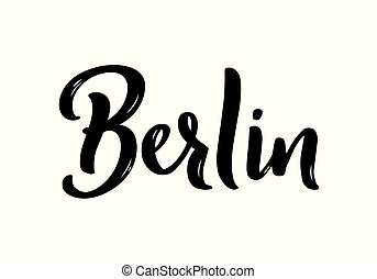 hand-lettering, berlin, calligraphy.