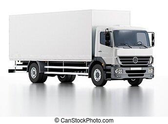 Handelslieferung / Frachtwagen