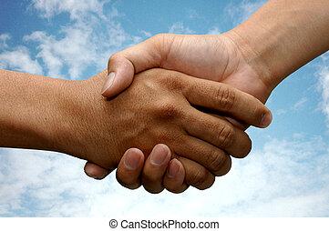 Handschütteln