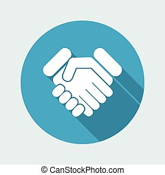 Handshake Ikone.