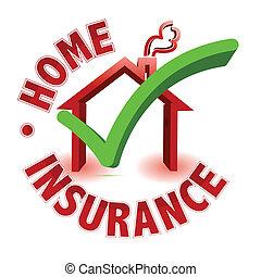 Hausversicherungskonzept