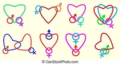 hearts., verbunden