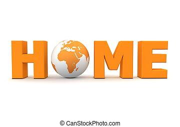 Heimatwelt orange