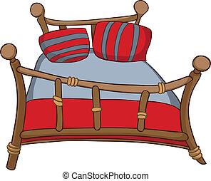Heimmöbel aus Cartoon