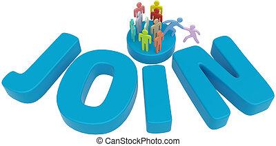 Helfen Sie, sich sozialen Geschäftsleuten anzuschließen