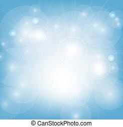 Hellblauer, abstrakter Hintergrund.