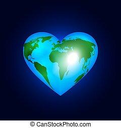 Herz der Welt.