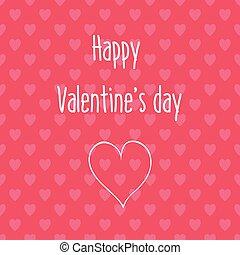 herz- muster, valentines, seamless, hintergrund, tag, karte, glücklich