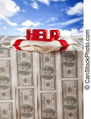 Hilfe bei der Finanzkrise