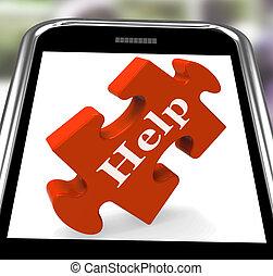 Hilfe bei Smartphone Shows Beratung
