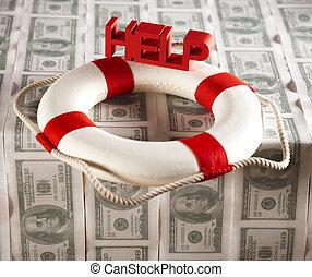 Hilfe in der Finanzkrise.