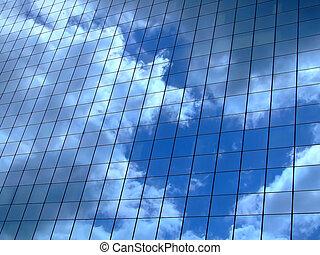 Himmelreflektion horizontal