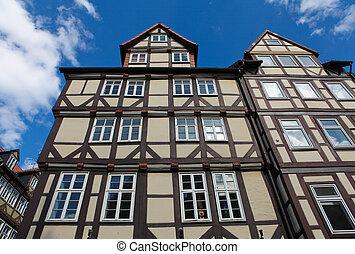 Historische Architektur in Hannover.
