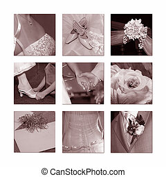 Hochzeitskollage
