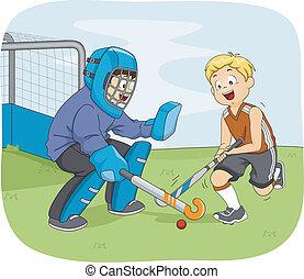 hockey, knaben
