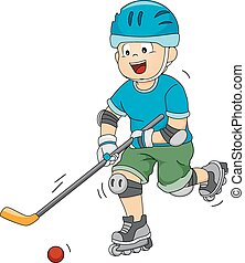 hockey, rolle