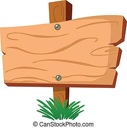 Holzzeichen
