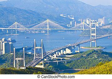 Hong-Kong-Brücken.
