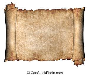Horizontales Manuskript