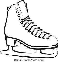 ice-skate