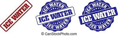 ICE WATER Grunge Stempeldichtungen