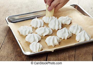 Ich mache Kekse.