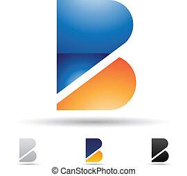Ikone abbrechen für Buchstaben B