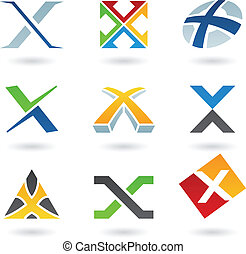 Ikonen für Buchstaben X deaktivieren