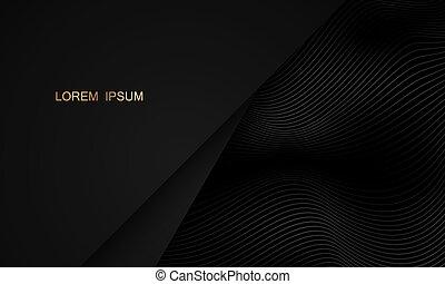 illustration., schwarz, vektor, abstrakt, beschaffenheit, sport, hintergrund