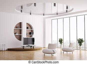 Im Wohnzimmer 3D