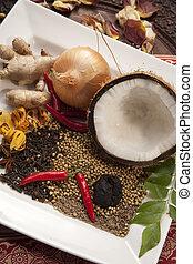 Indische Lebensmittelzutaten