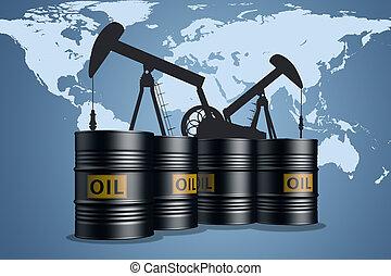industriebereiche, erdöl