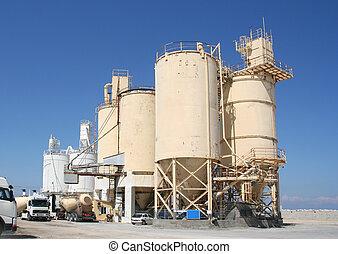 industriebereiche, zement