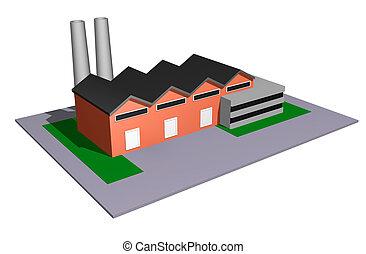 Industriemodell