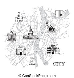 Information Stadtplan.