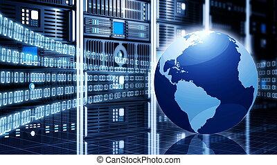 informationen, begriff, technologie