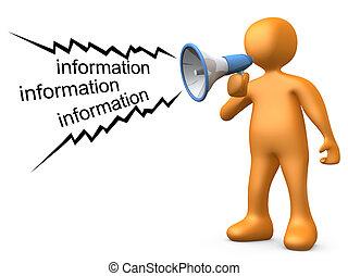 Informationen geben
