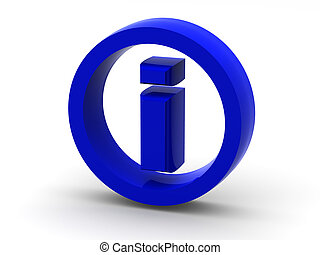 Informationen. Symbol