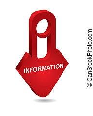 Informationszeichen