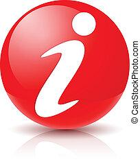 Informationszeichen Icon