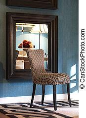 inneneinrichtung, daheim, stuhl, design