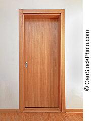 Innenrutschende Tür