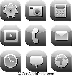 Interface-Icon ist grau.